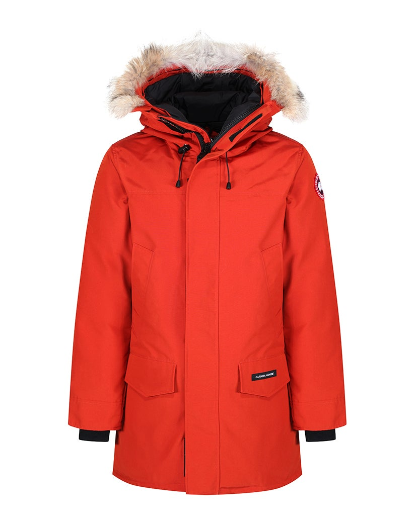 Canada Goose Langford Parka Duck Down Coat Jacket in Red