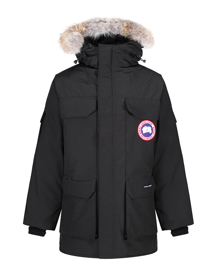 bc6cd54f4d2 Canada Goose Expedition Parka Down Jacket - Black   Country Attire