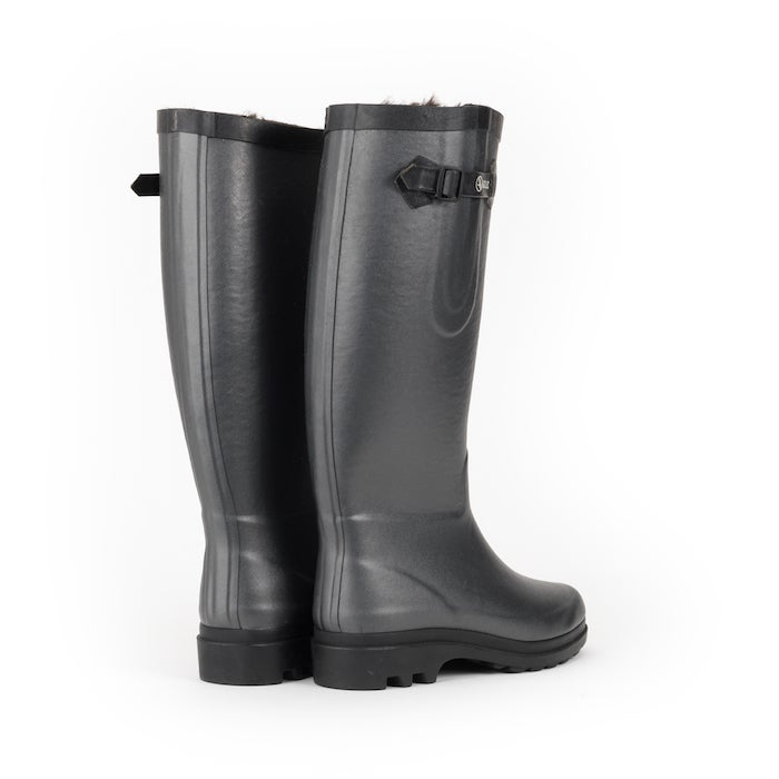 Aigle Aiglentine Faux Fur Lined Dame Wellies