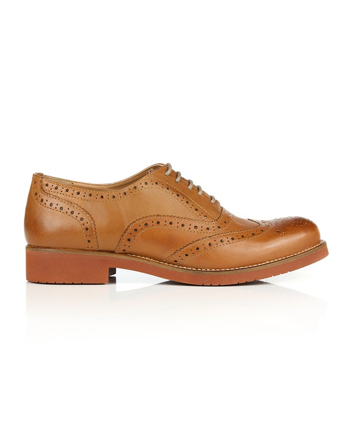 GH Bass Albany Oxford Brogue Dress Shoes