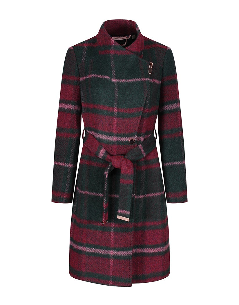 Giacca Donna Ted Baker Skaalet Dark Green | Country Attire