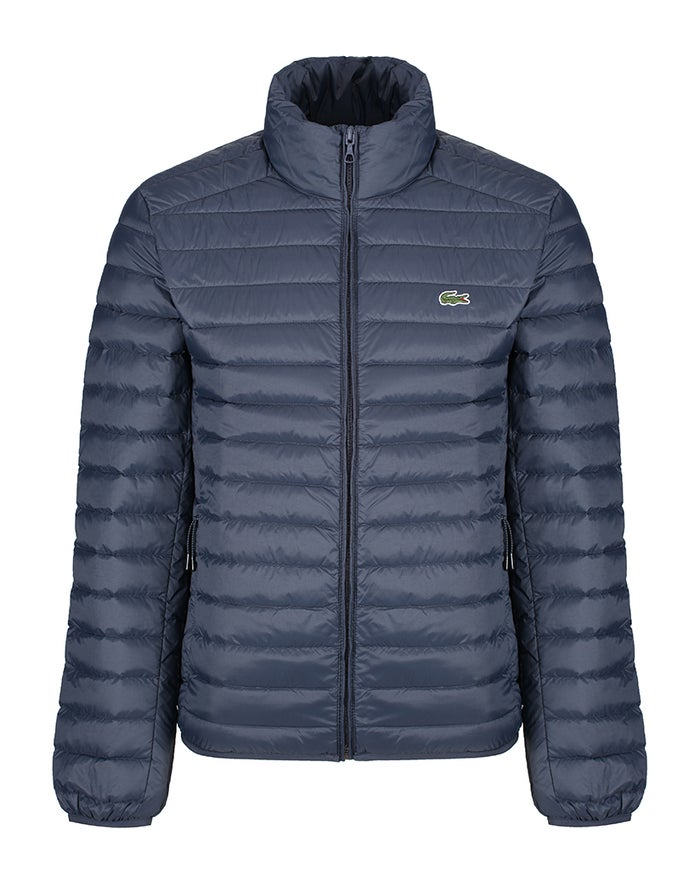 3f5c1f8e28f1 Lacoste Light Quilted , Dunjacka - Meridian Blue rea hos Country Attire