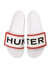 Hunter Original Adjustable Logo Slides Women's Sandals
