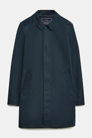 Jack Wills Dundraw Garment Washed Mac Jacket