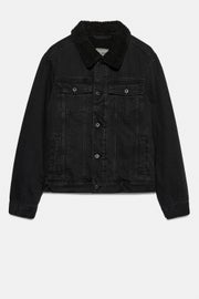 Jack Wills Hormbeam Sherpa Trucker Jacket