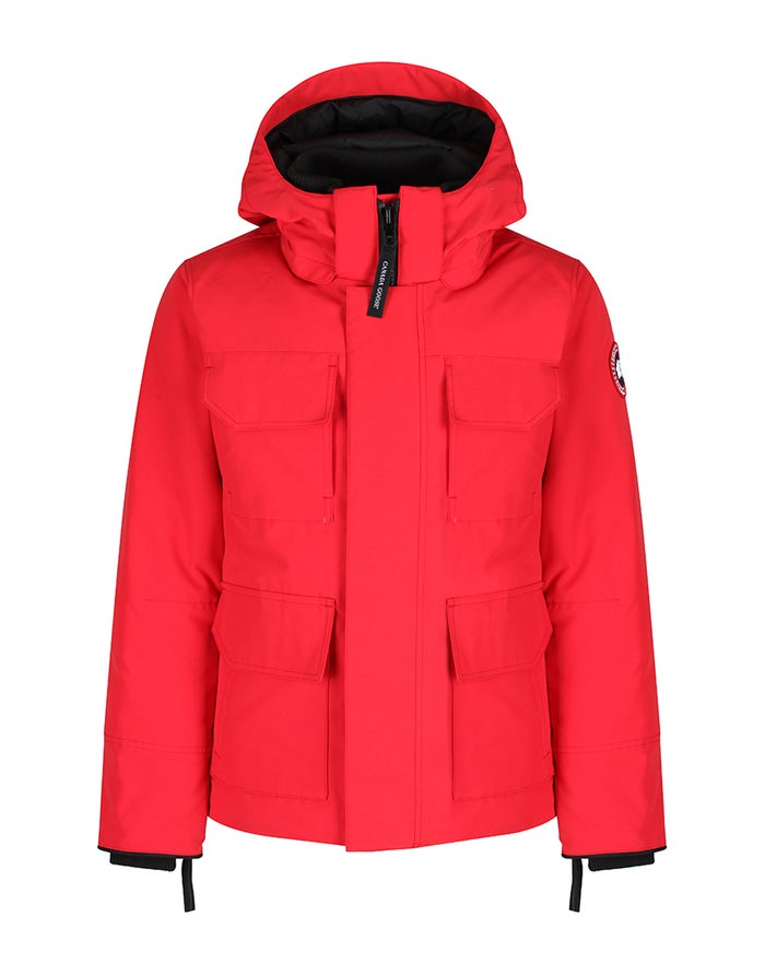 3efc5e93bbf Canada Goose Maitland Parka Jacket - Red | Country Attire
