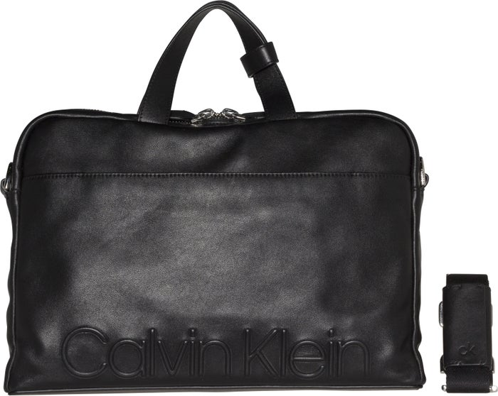 Saco de Mensageiro Calvin Klein Statement Zip Slim Laptop