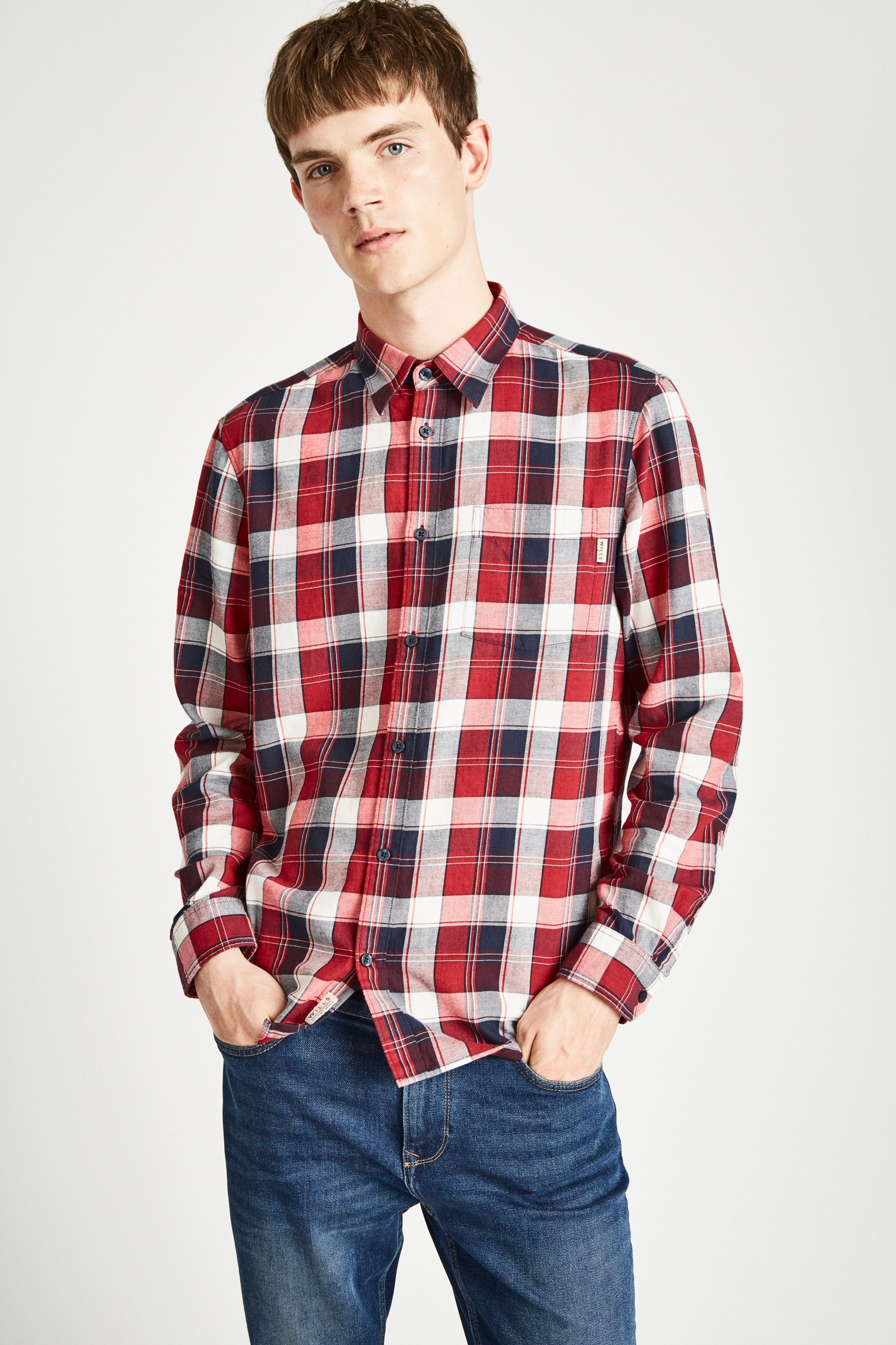 Jack Wills Dundry Mw Flannel Shirt