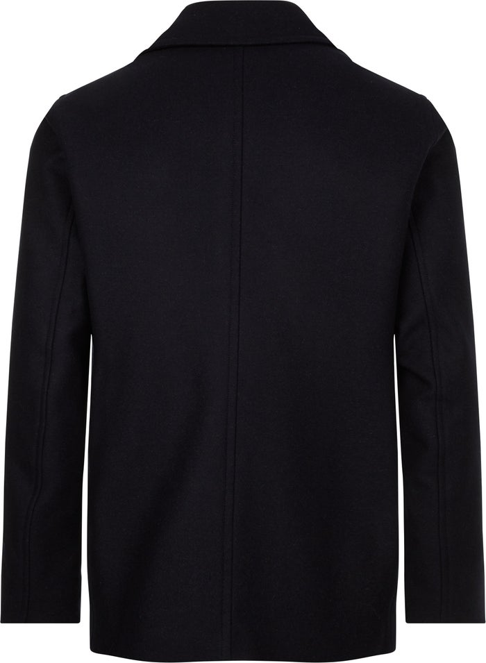 Tommy Hilfiger Short Wool Peacoat Jacket