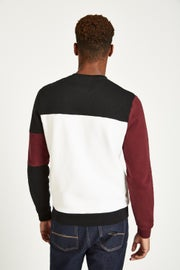 Jack Wills Etitude Colour Block Sweat Shirt Sweater