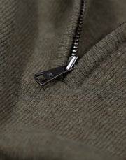 Hackett Lambswool Half Zip Herre Sweater