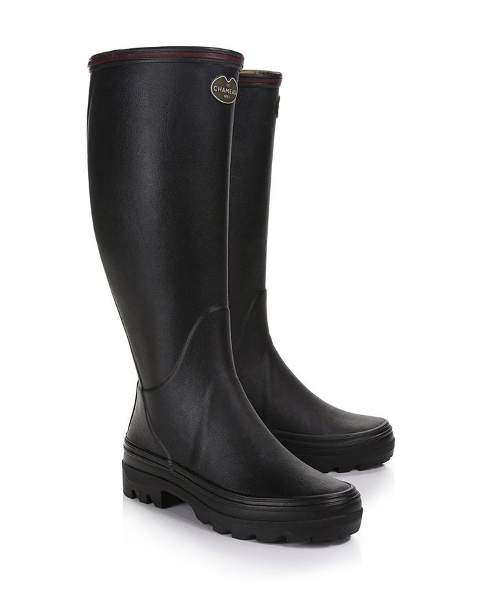 Le Chameau Giverny Jersey Lined Women's Wellington Boots