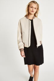 Jack Wills Maltby Wool Blend Bomber Women's Jacket