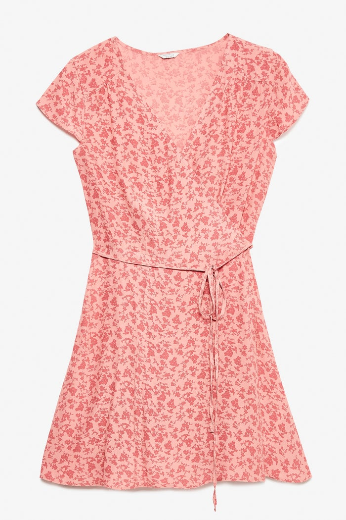 Jack Wills Lockerley Printed Soft Tea Dress Women's Jacket