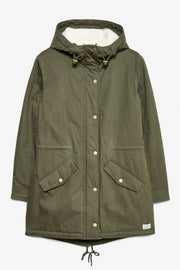 Jack Wills Hazlewood Sherpa Lined Parka Women's Jacket