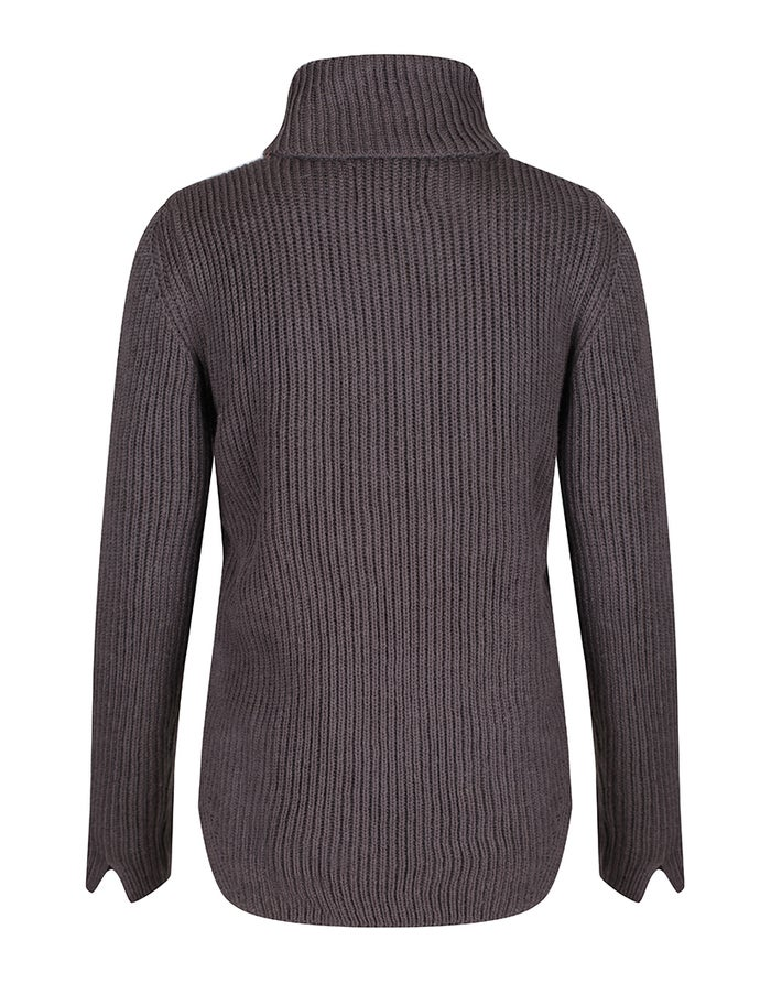 Peregrine Cassey Polo Neck Dame Sweater