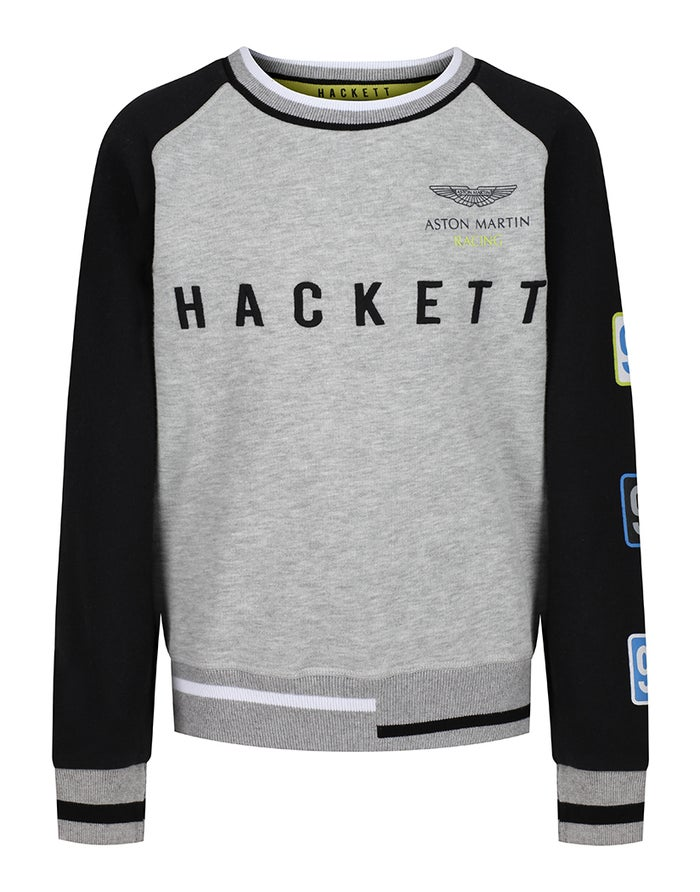 Hackett Aston Martin Racing RG Crew Neck Sweater