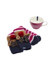 Meias Senhora Joules Festive Mug and