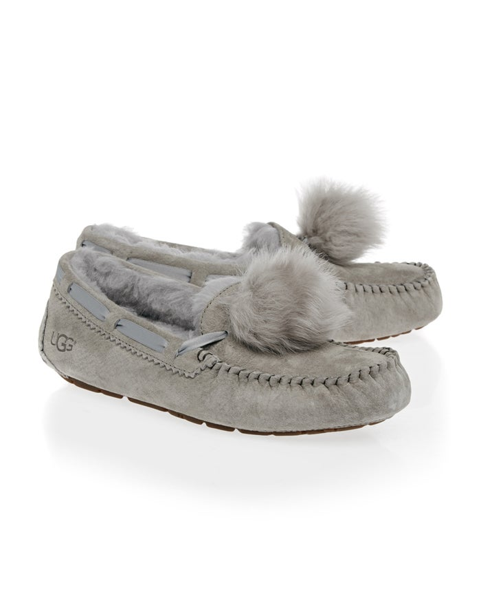 452d956e0a4 UGG Dakota Pom Pom Women's Slippers - Seal | Country Attire