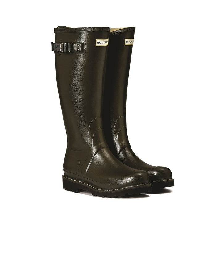 Hunter Balmoral II Poly Lined Damen Gummistiefel