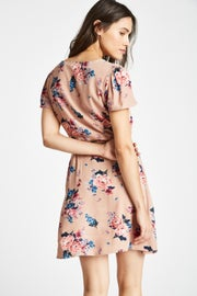 Jack Wills Perwent Soft Printed Tea Dress
