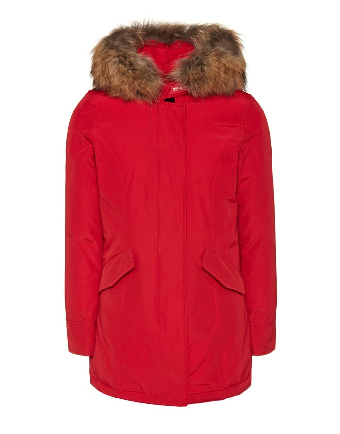 buy popular 7a2fe dbbc5 Woolrich Arctic Parka Fr Women's Jacket - Red French Kiss ...