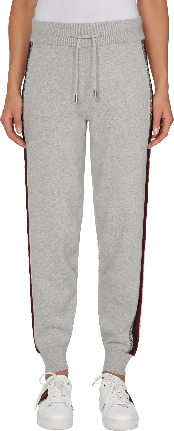 db534fa952cc97 Tommy Hilfiger Icon Tarah Women's Jogging Pants - Light Grey Heather ...