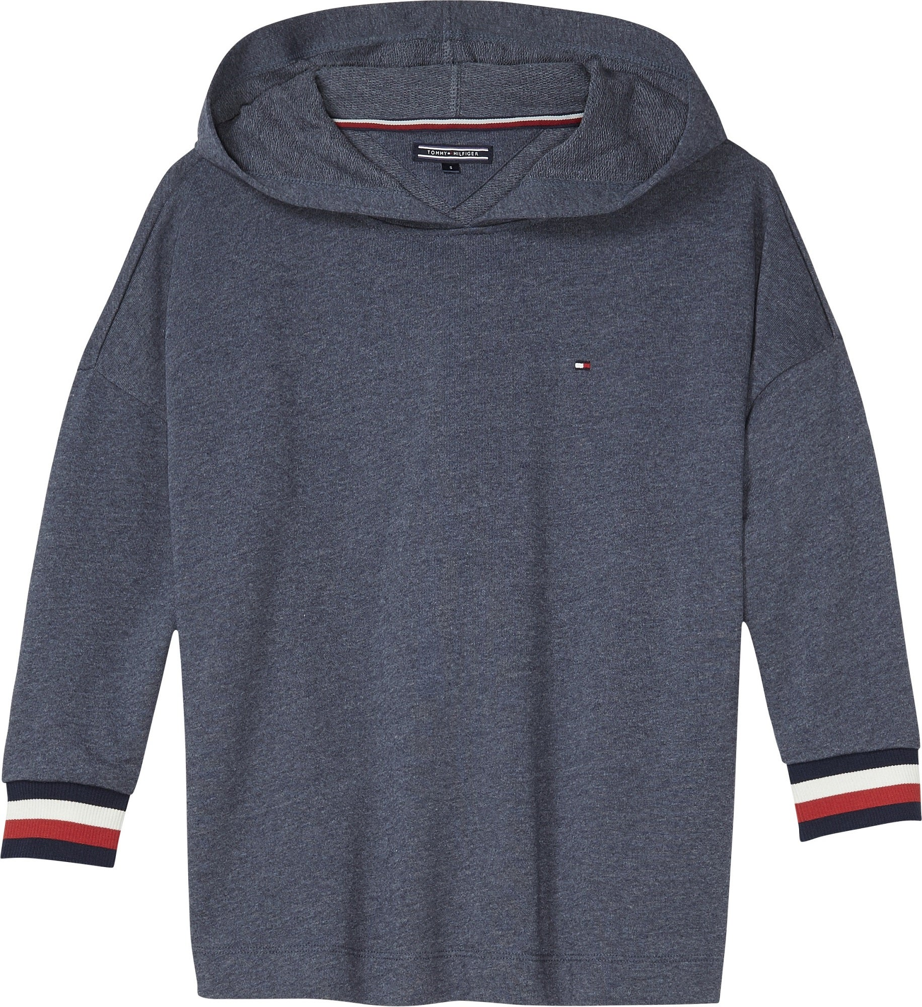 Tommy Hilfiger Longer Length Dame Pullover Hættetrøje