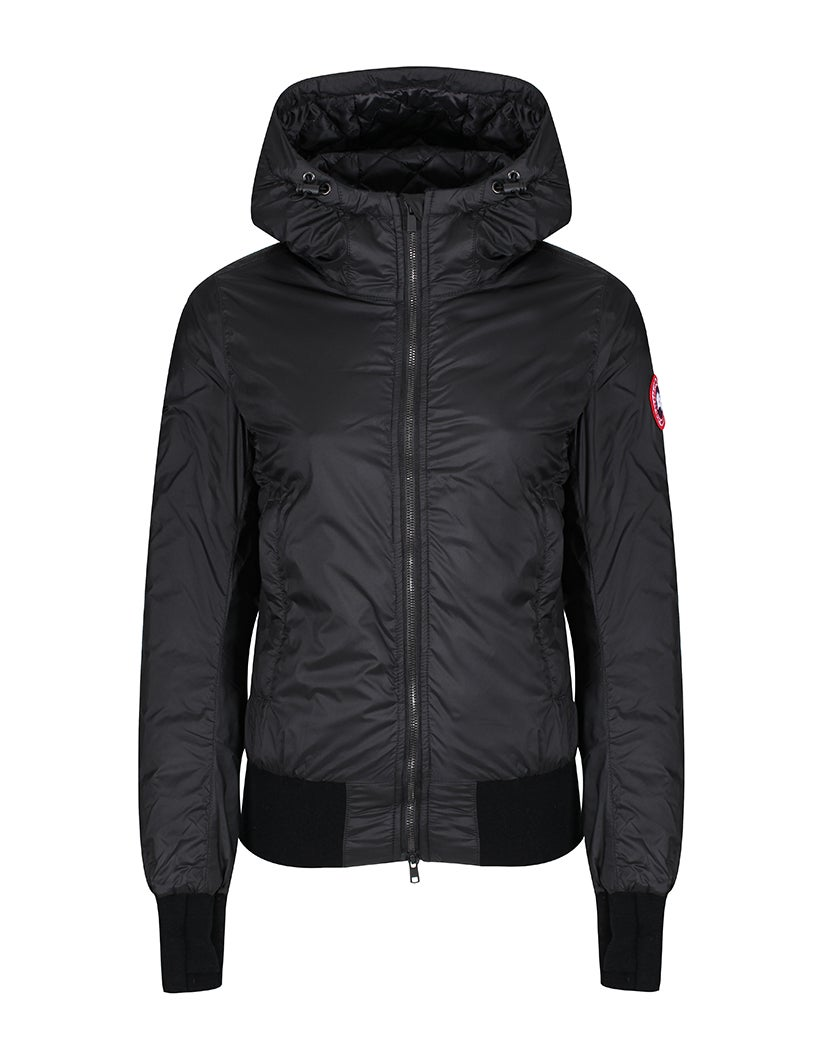 canada goose dore hooded damen jacke black country attire. Black Bedroom Furniture Sets. Home Design Ideas