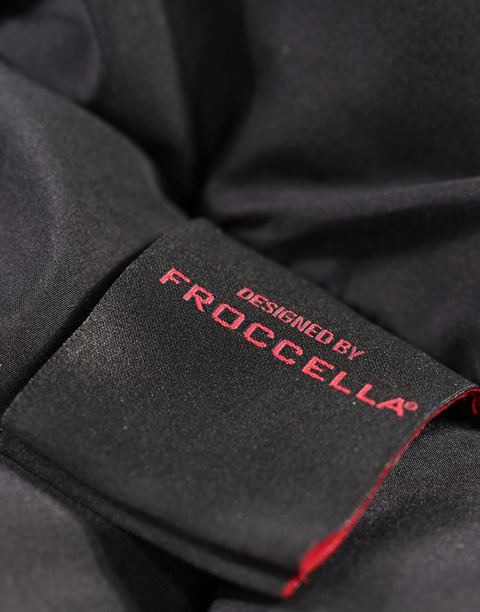 Froccella Long Plain Quilted Women's Jacket