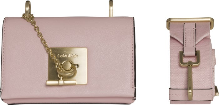 Calvin Klein Ck Lock Small Flap Crossbody Women's Handbag