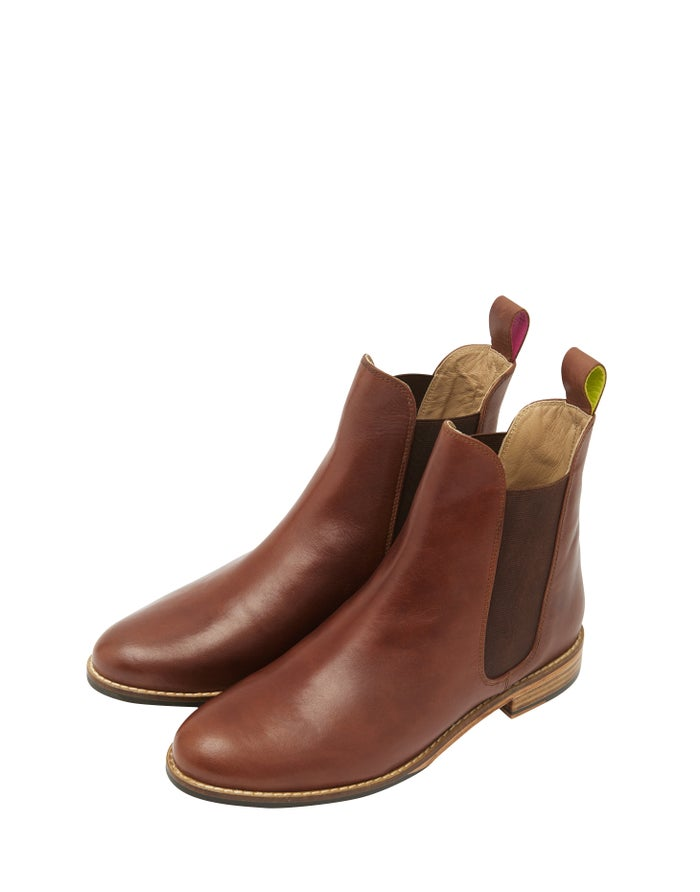 16907a4eb78 Joules Premium Westbourne Chelsea Women's Boots - Tan | Country Attire