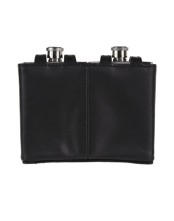 Barbour Double Hip Flask