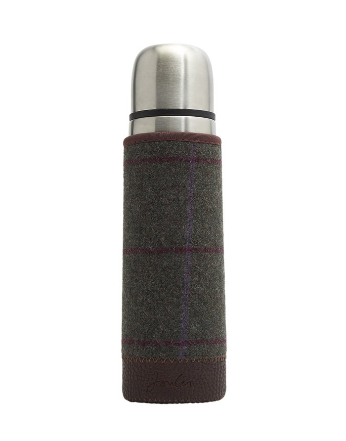 Joules Tweed Picnic Thermos Flask