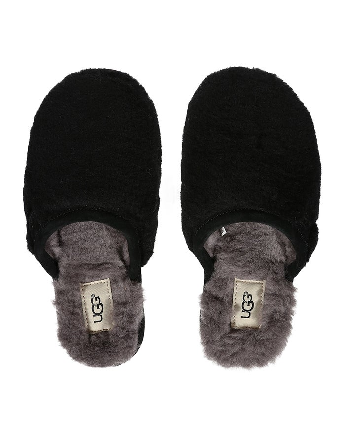 ac262c12513 UGG Fluffette Women's Slippers - Black | Country Attire