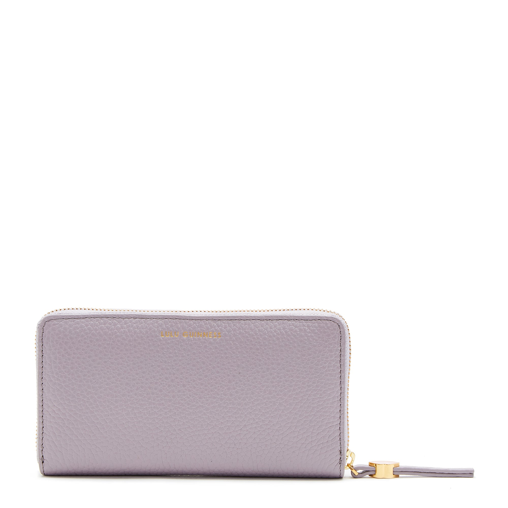 Lulu Guinness Grainy Leather Cont Dame Tegnebog