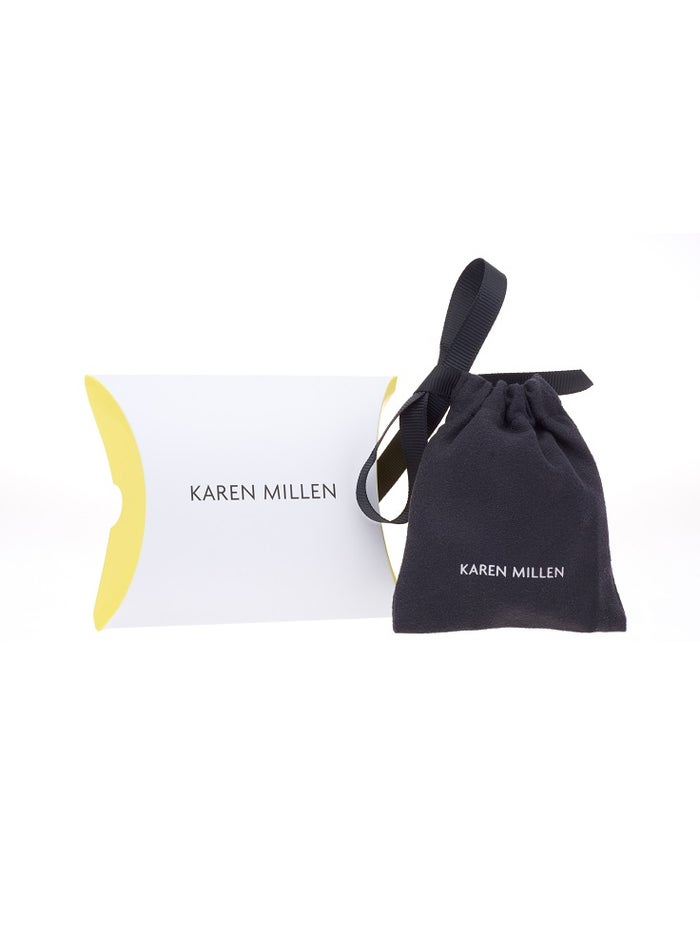 Karen Millen Snake Twist Necklace