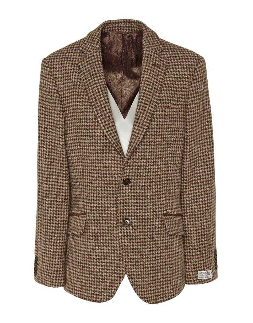 Country Attire Made In England Harris Tweed William Blazer