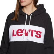 Levis Colour Block Cinched Women's Pullover Hoody