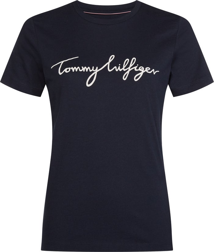 f6e3e7c40 Tommy Hilfiger Heritage Crew Neck G Women's Short Sleeve T-Shirt | Country  Attire