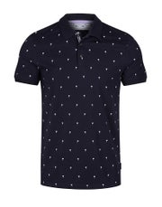 Ted Baker Palm Tree Printed Polo Shirt