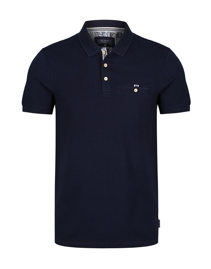Ted Baker Textured Polo Shirt