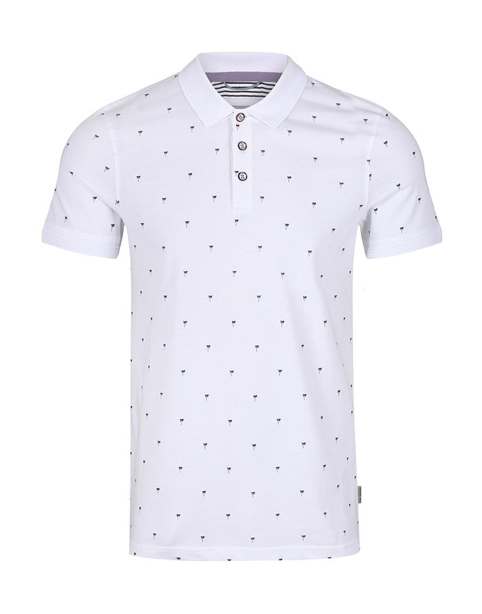 Chemise Polo Ted Baker Palm Tree Printed
