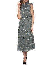 Ted Baker Toppaz Oracle Pleated Smock Women's Dress