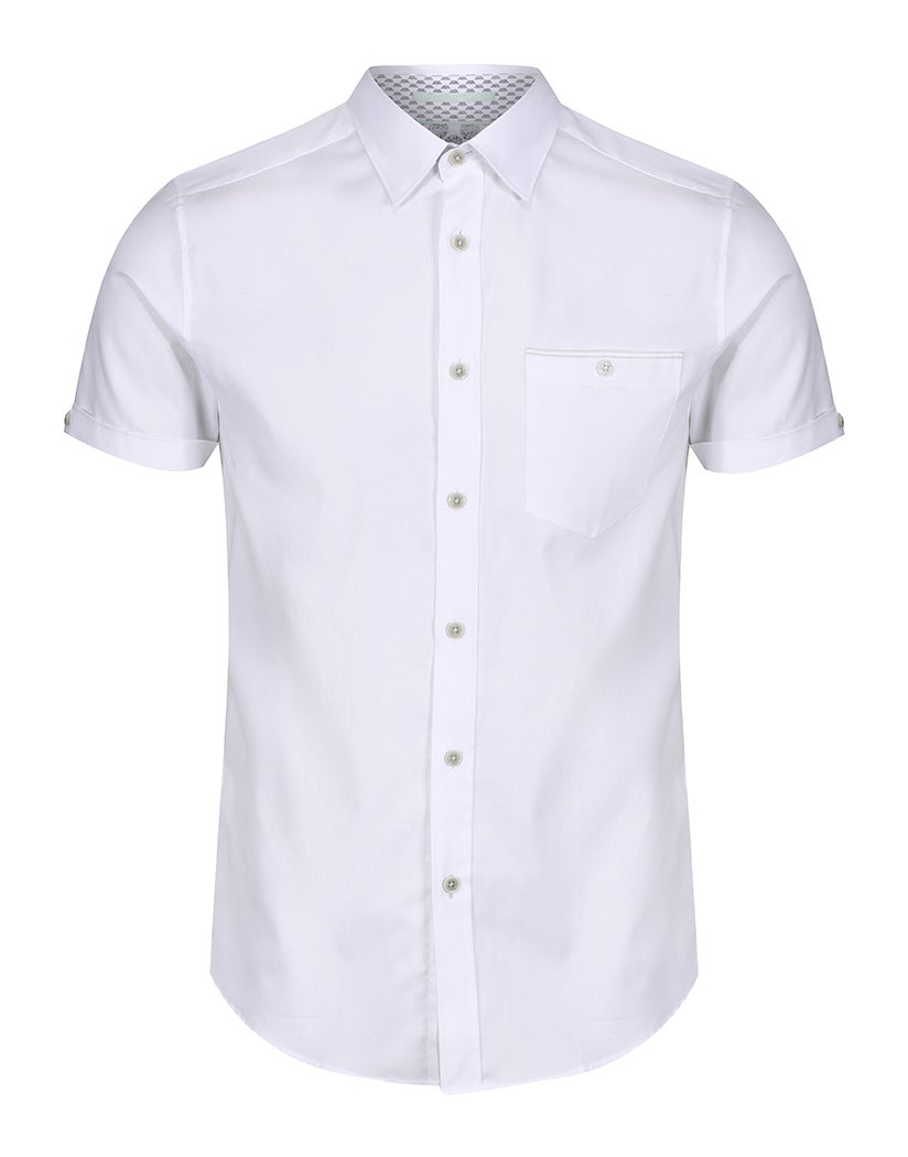 Ted Baker WALLABI Oxford Short Sleeve Shirt