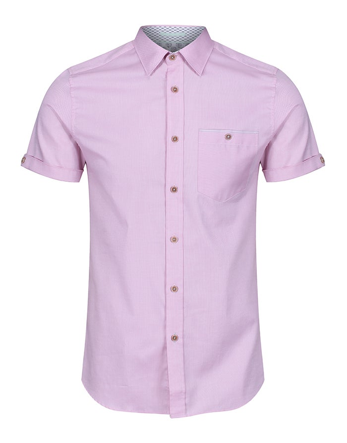 Ted Baker Oxford Short Sleeve Shirt