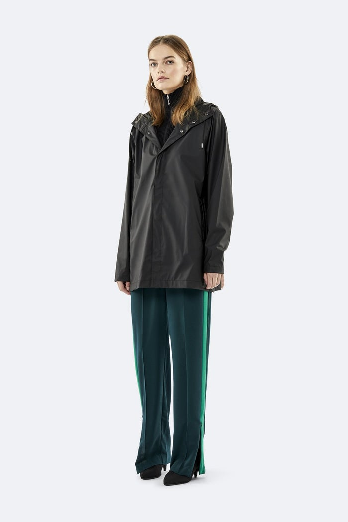 Rains Short Coat Modejakke
