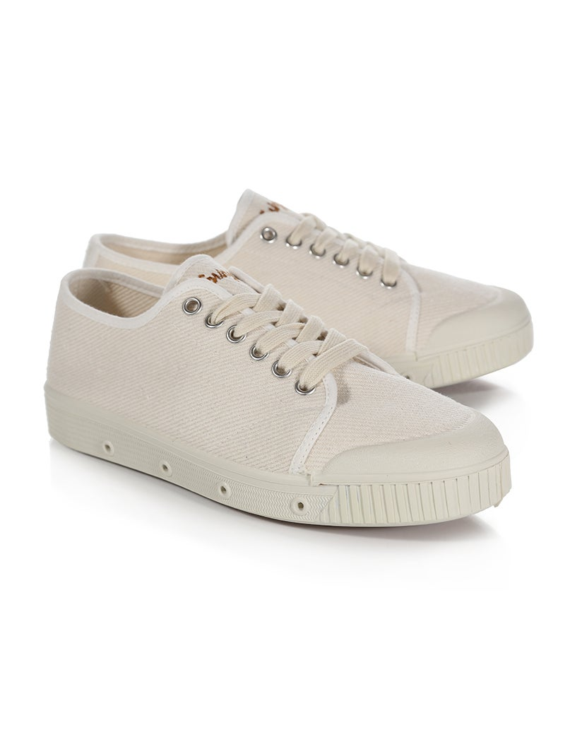 Spring Court Washed Heavy Twill Dame Sko