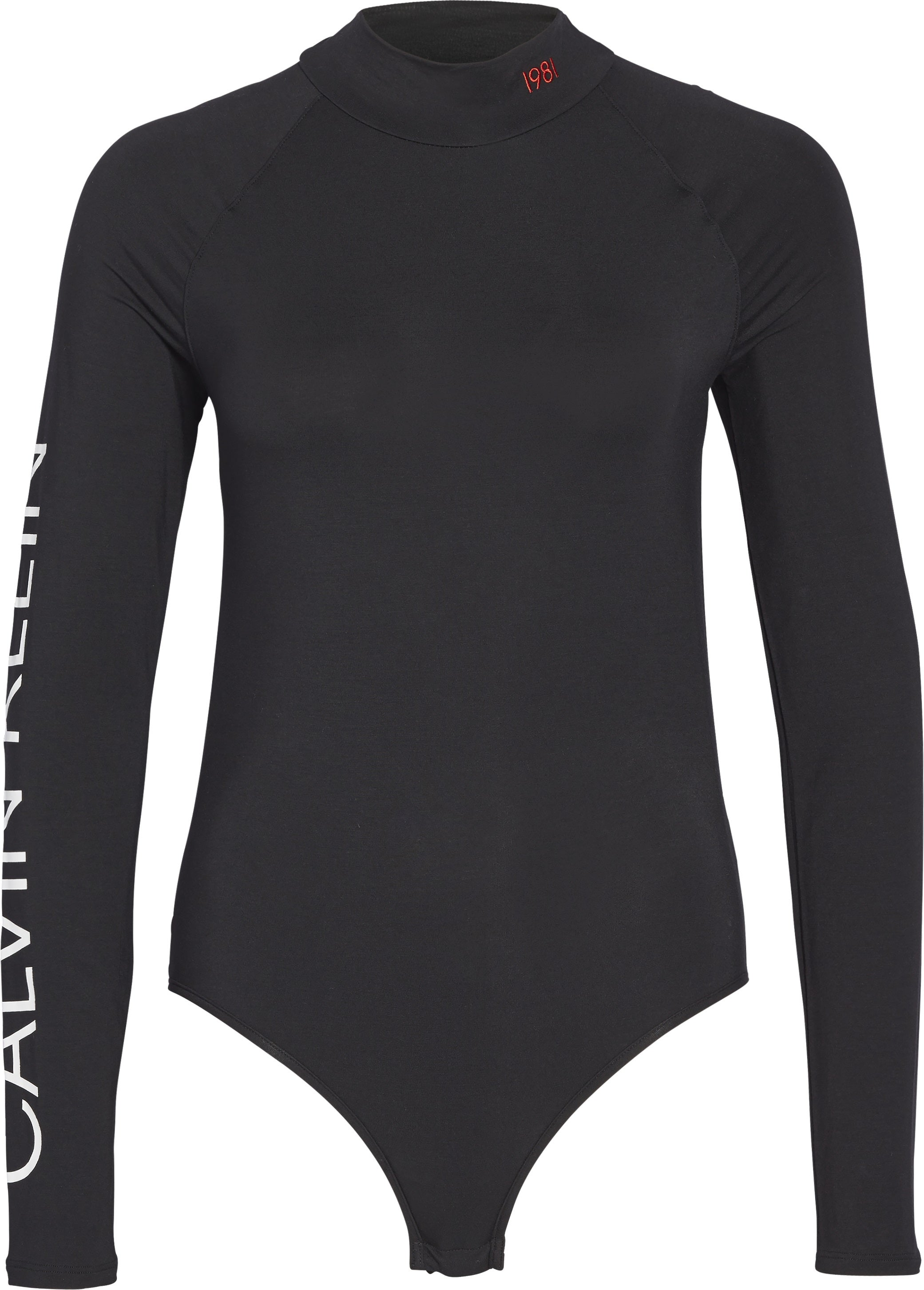 Calvin Klein Long Sleeved Dame Bodysuit