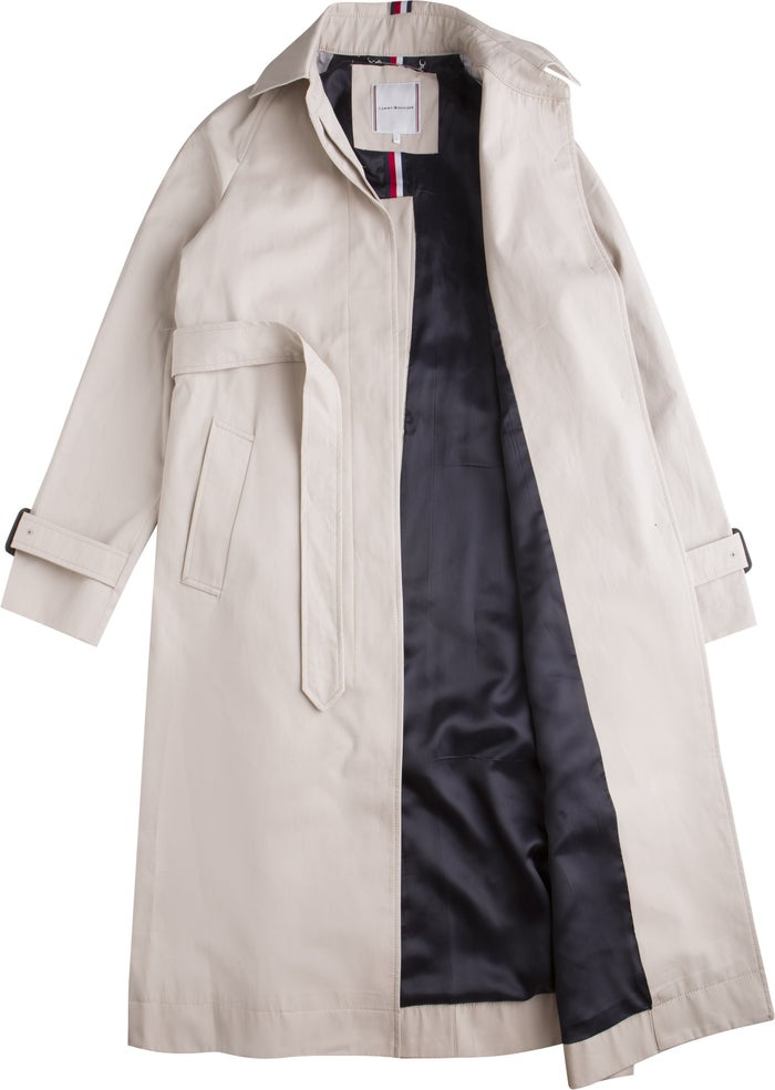 Tommy Hilfiger Essential Single Breasted Trench Women's Jacket